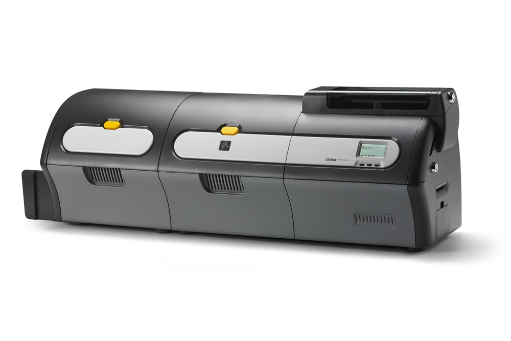 ZXP Series 7 with Laminator Left Side