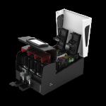 privelio-printer-of-evolis-side-view-with-hopper-open