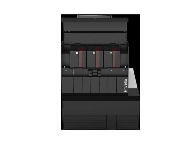 privelio-xt-printer-of-evolis-side-view-with-3-feeder