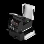 privelio-xt-printer-of-evolis-side-view-with-hopper-open